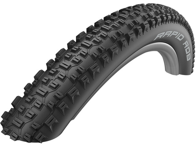 """SCHWALBE Rapid Rob Active Wired-on Tire KevlarGuard SBC 27.5x2.10"""" black"""